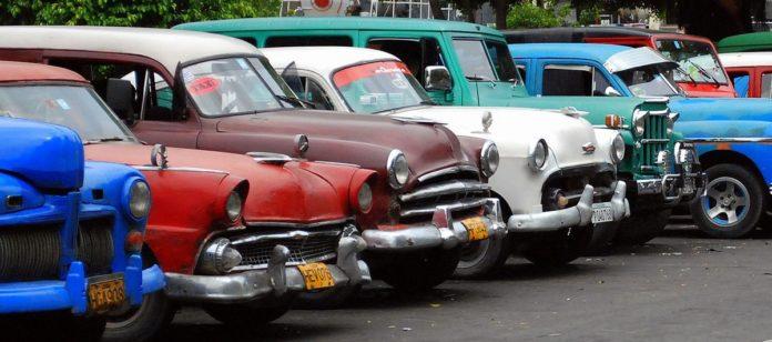 Auto storiche a Cuba